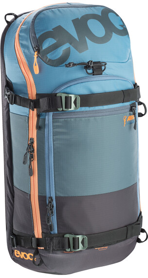 Evoc Zip-On ABS - Pro Team 20L copen blue/slate/mud